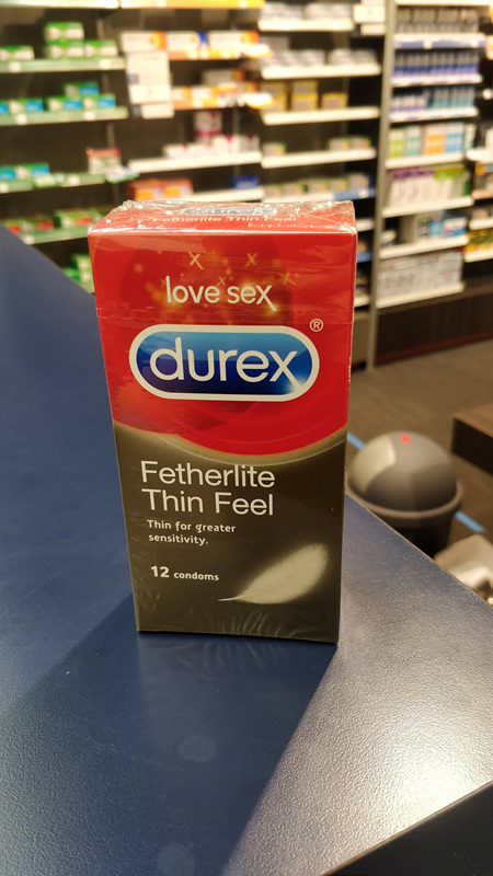 DUREX Featherlite Thin Feel 12s