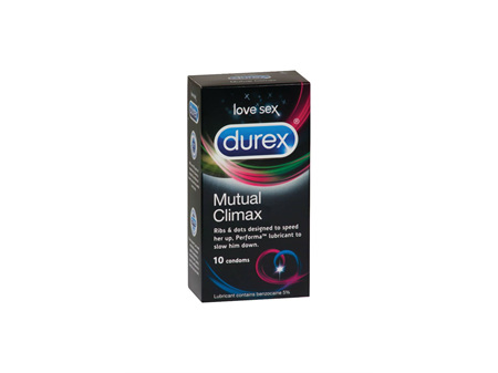 DUREX Mutual Climax Condoms 10pk