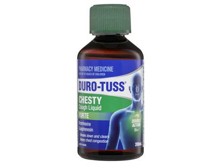 DURO-TUSS Chesty Cough Liquid Forte 200mL