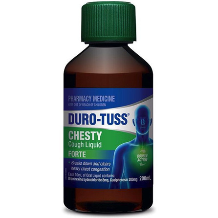 DURO-TUSS CHESTY FORTE 200ML