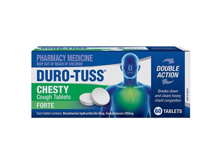 DURO-TUSS Chesty Forte 24tabs