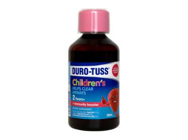 DURO-TUSS Children's Ivy Leaf Natural Strawberry Taste 200ml