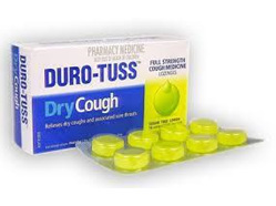 Duro-Tuss Dry Cough S/F Loz Lemon