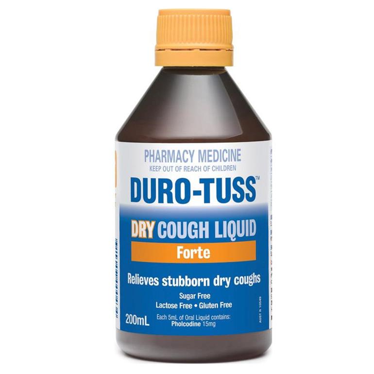 Duro Tuss Dry Forte Cough Liquid 200ml