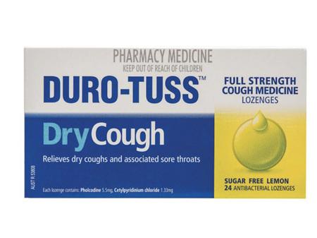 DURO-TUSS Lozenge Lemon 24