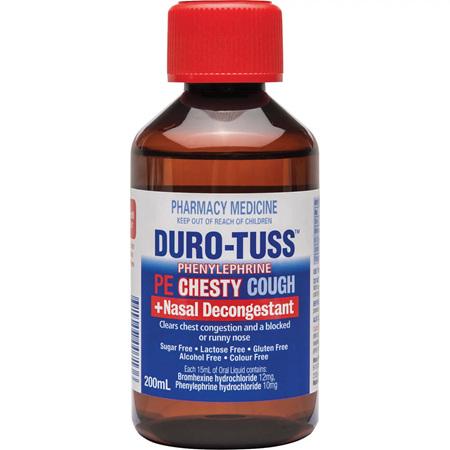DURO-TUSS PE Chesty 200ml