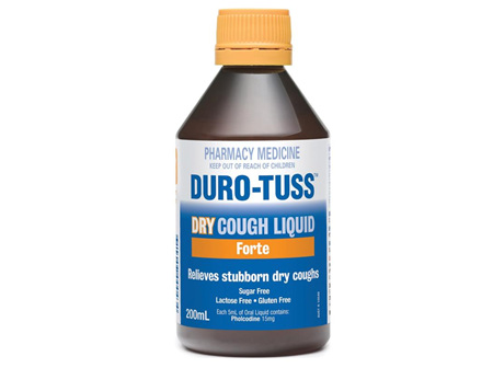 DURO-TUSS PE Dry Cough 200ml