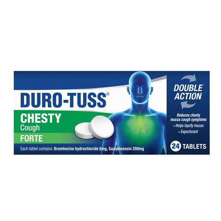 DuroTuss Chesty Forte 24 Tablets