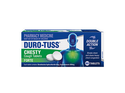DuroTuss DuroTuss Chesty Forte Cough Tablets