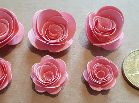 Dusty pink mini roses