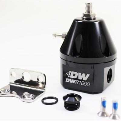 DWR1000 Adjustable Fuel Pressure Regulator - Black