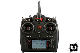 DX7 Ch Radio system w/AR8000 Rx, TX Battery & AC Charger