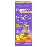 Dymadon 1 Month - 2 Years Orange 60mL