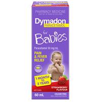 Dymadon 1 Month - 2 Years Strawberry 60mL