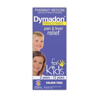 Dymadon 2-12 Years Orange 100mL