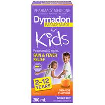 Dymadon 2-12 Years Orange 200mL