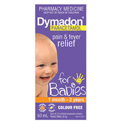 DYMADON  BABY 1 MONTH-2 YEARS ORANGE 60ML