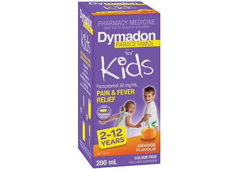 Dymadon Parac 2-12Y Orange 200Ml C/F