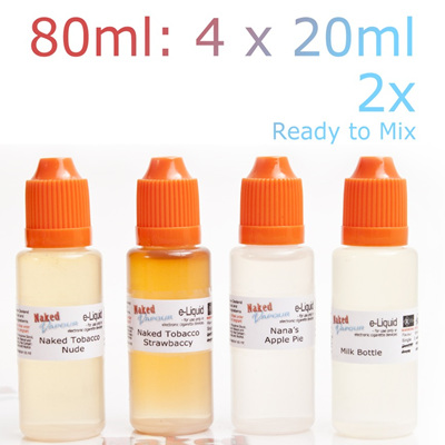 e-Liquid - 80ml - D