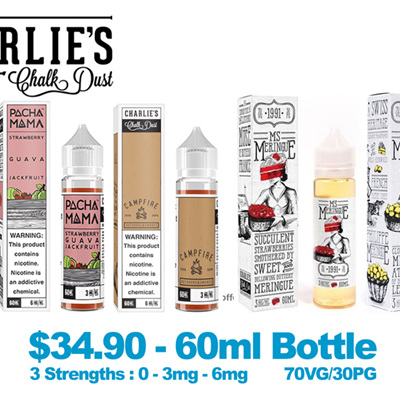 e-Liquids by Charlie's Chalk Dust