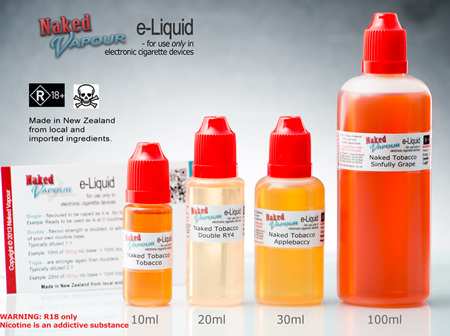 e-Liquids by Naked Vapour