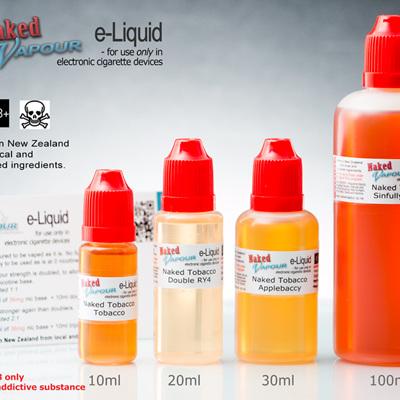 e-Liquids by Naked Vapour