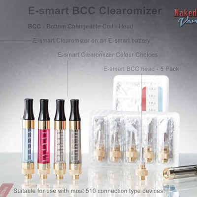 E-smart BCC Clearomizer - Single