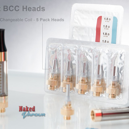 E-smart BCC Heads - 5 Pack