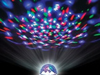 E27 3W RGB Rotating  LED Disco Light Bulb