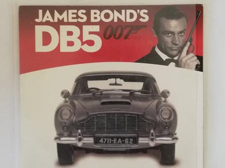 Eaglemoss 1/8 James Bond DB5 Weekly Magazine Instruction DVD