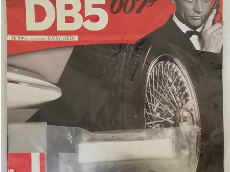 Eaglemoss 1/8 James Bond DB5 Weekly Magazine Issue 15