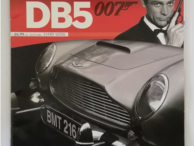 Eaglemoss 1/8 James Bond DB5 Weekly Magazine Issue 2