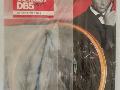 Eaglemoss 1/8 James Bond DB5 Weekly Magazine Issue 23