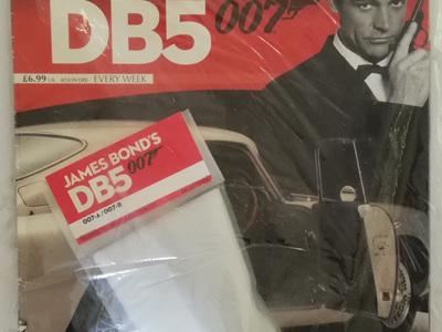 Eaglemoss 1/8 James Bond DB5 Weekly Magazine Issue 7