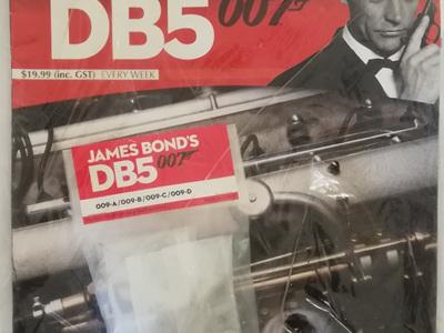 Eaglemoss 1/8 James Bond DB5 Weekly Magazine Issue 9
