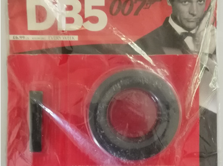 Eaglemoss 1/8 James Bond DB5 Weekly Magazine Issue 5