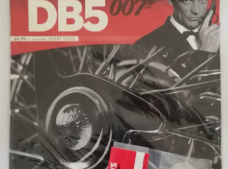 Eaglemoss 1/8 James Bond DB5 Weekly Magazine Issue 18
