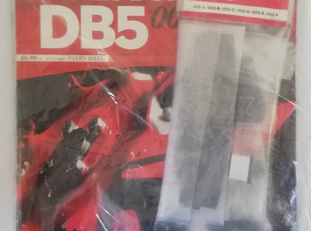 Eaglemoss 1/8 James Bond DB5 Weekly Magazine Issue 12