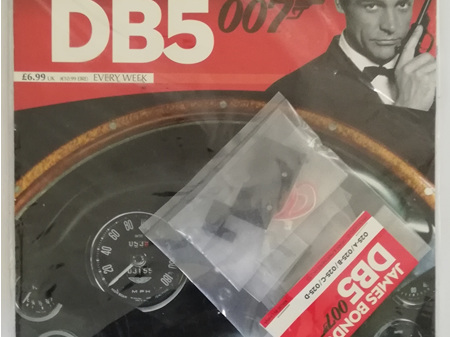 Eaglemoss 1/8 James Bond DB5 Weekly Magazine Issue 25