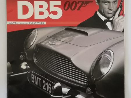 Eaglemoss 1/8 James Bond DB5 Weekly Magazine Issue 2