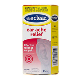 EAR CLEAR EAR ACHE DPS 15ML