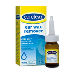 EAR CLEAR EAR WAX REM DPS 12ML