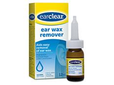 Ear Clear Ear Wax Removal 12ml