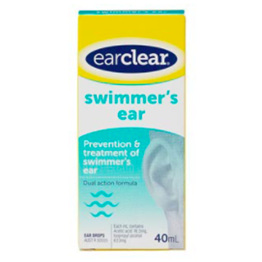 EAR CLEAR SWIM EAR DPS 40ML