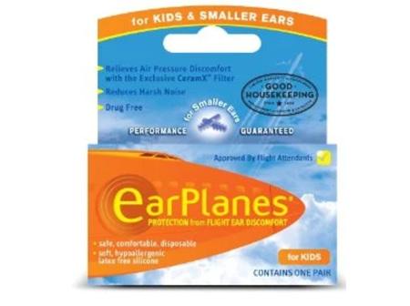 EAR PLUGS EARPLANES CHILD