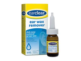EARCLEAR Wax Removal Drops 12ml