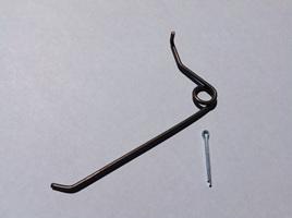 Earmarker spring - Wire type