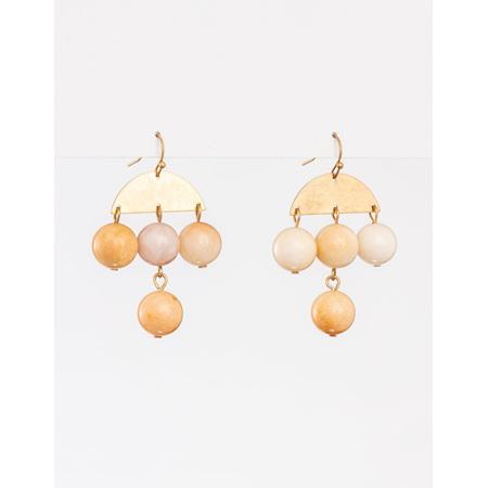 Earring Beads Rose Chandlier