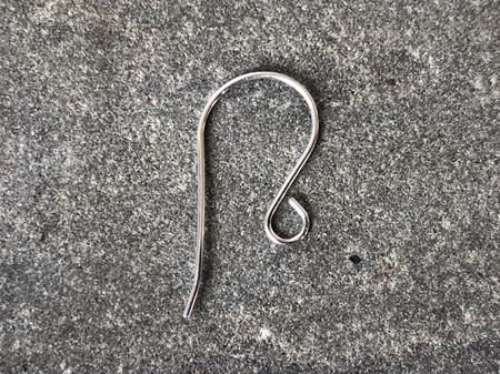 Earring hooks - .7mm - sterling silver - medium