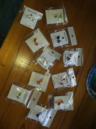 Earrings bulk lot end of line